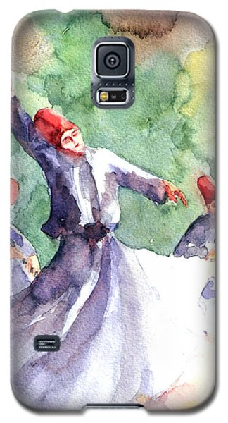 Whirling Dervishes Galaxy S5 Case by Faruk Koksal