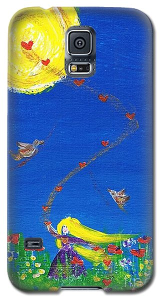 Whirling Love Galaxy S5 Case