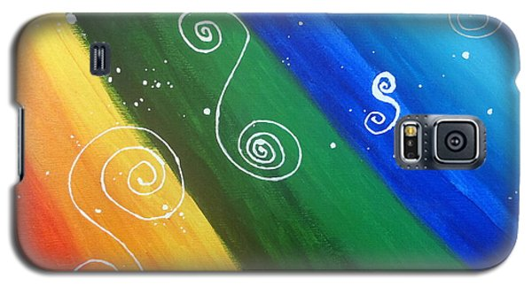Whirling Galaxy S5 Case