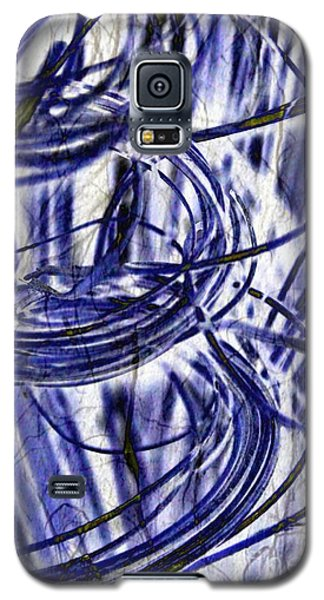 Galaxy S5 Case featuring the digital art Whirlwind by Darla Wood