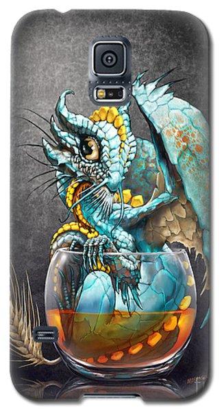 Dragon Galaxy S5 Case - Whiskey Dragon by Stanley Morrison