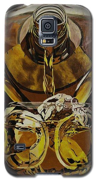 Whiskey Pour Galaxy S5 Case by Herb Van de Eau