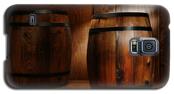 Whisky Barrel Galaxy S5 Case