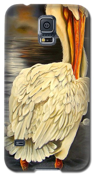 Galaxy S5 Case featuring the painting Whisper And Shout by Phyllis Beiser