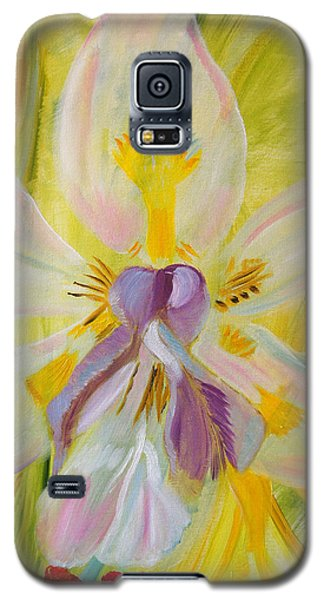 Galaxy S5 Case featuring the painting Whisper by Meryl Goudey