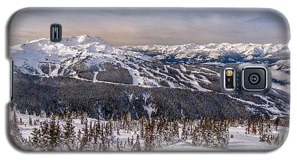 Whistler Mountain Winter Galaxy S5 Case