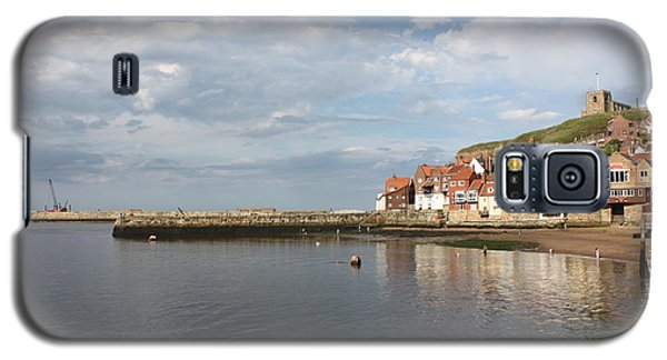 Galaxy S5 Case featuring the photograph Whitby Abbey N.e Yorkshire by Jean Walker
