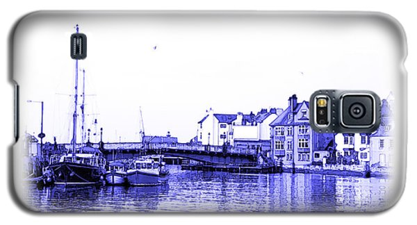 Galaxy S5 Case featuring the photograph Whitby Harbor by Jane McIlroy