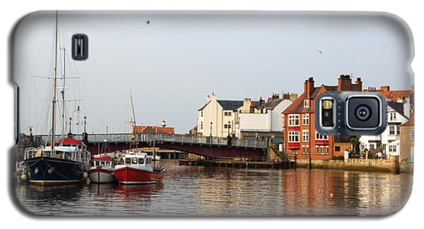 Galaxy S5 Case featuring the photograph Whitby Harbour by Jane McIlroy