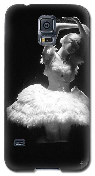 White Ballerina Galaxy S5 Case