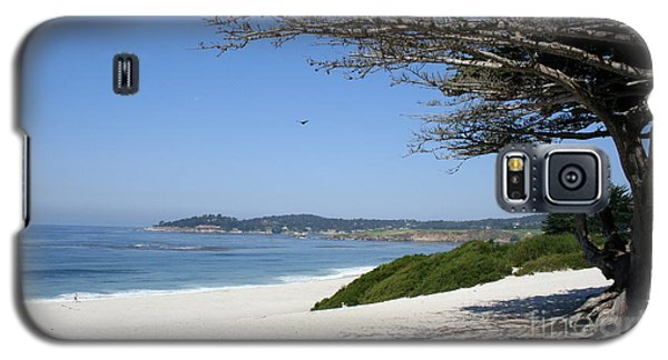 White Beach At Carmel Galaxy S5 Case by Christiane Schulze Art And Photography