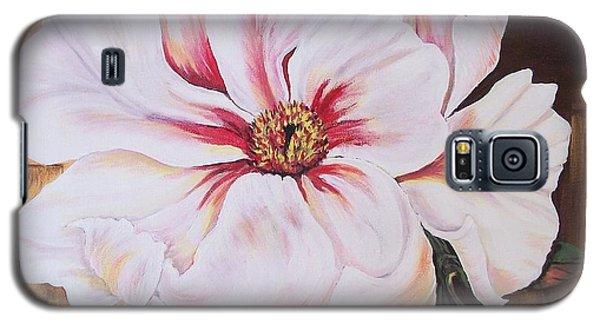 White Beauty Galaxy S5 Case