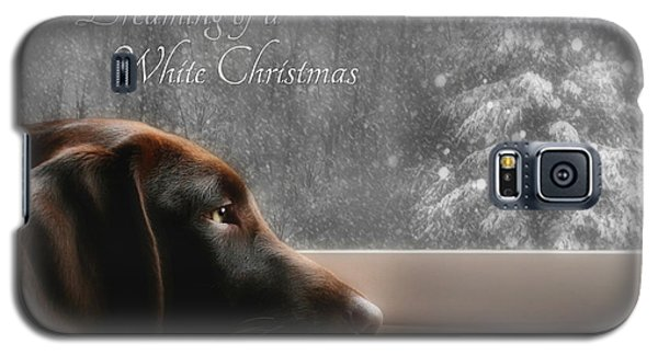 White Christmas Galaxy S5 Case