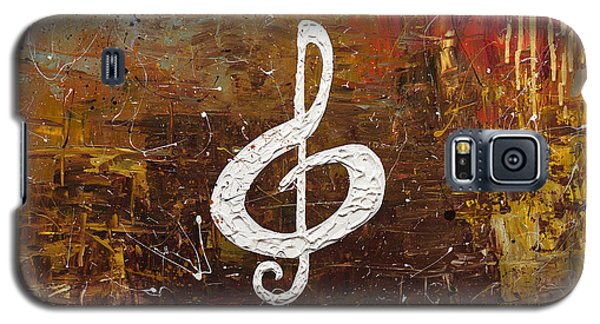 White Clef Galaxy S5 Case by Carmen Guedez