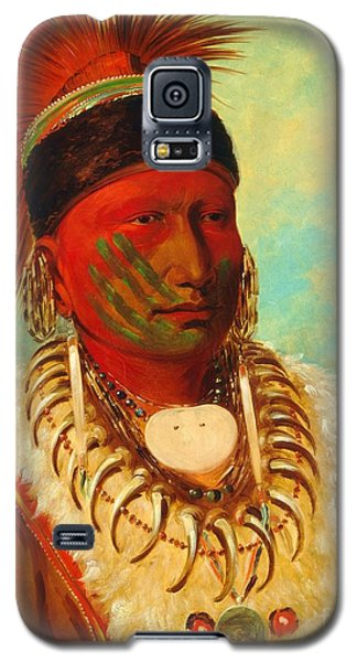 White Cloud - Chief Of The Iowas Galaxy S5 Case by Pg Reproductions
