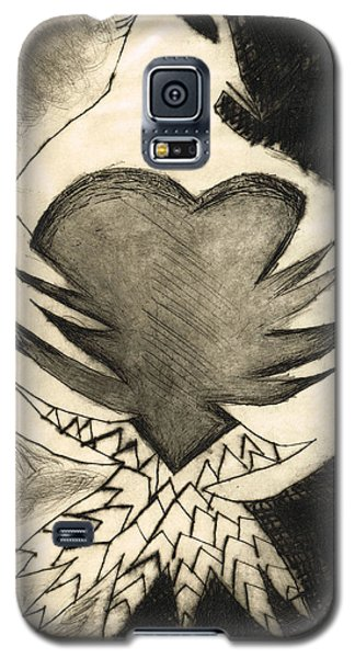 White Dove Art - Comfort - By Sharon Cummings Galaxy S5 Case by Sharon Cummings