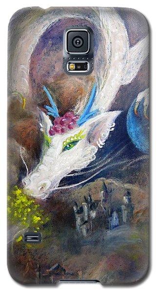 White Dragon Galaxy S5 Case by Jieming Wang