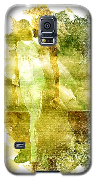 Galaxy S5 Case featuring the digital art White Dress by Andrea Barbieri