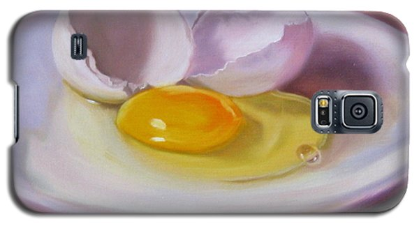 White Egg Study Galaxy S5 Case by LaVonne Hand