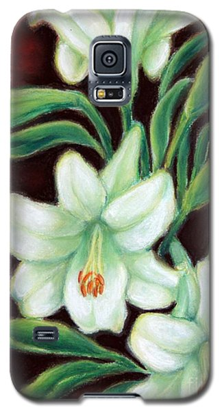 White Elegance Galaxy S5 Case