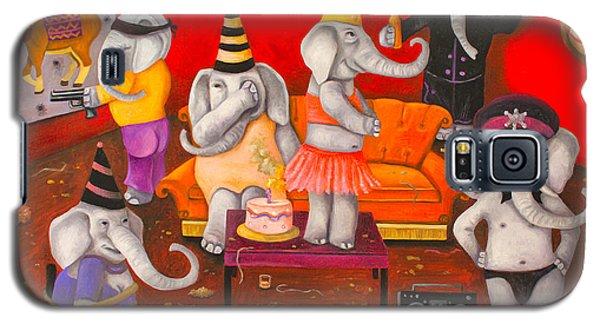 White Elephant Party Edit 5 Galaxy S5 Case