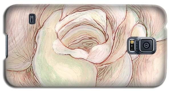 White Gardenia 2 Galaxy S5 Case