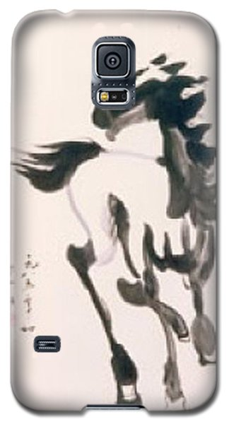 White Horse  Galaxy S5 Case by Fereshteh Stoecklein