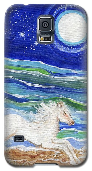 White Horse Of The Sea Galaxy S5 Case