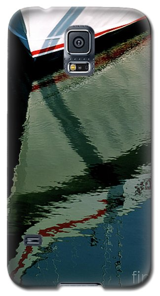 White Hull On The Water Galaxy S5 Case