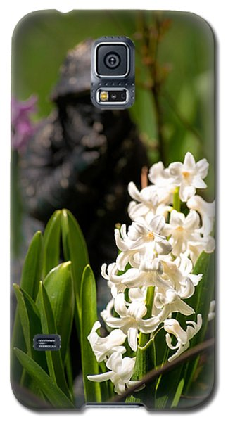 White Hyacinth In The Garden Galaxy S5 Case by  Onyonet  Photo Studios