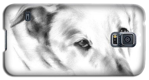 White Labrador Galaxy S5 Case