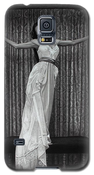 White Lace Galaxy S5 Case