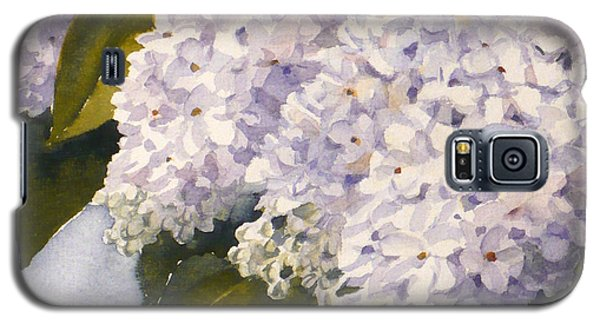 White Lilacs Galaxy S5 Case
