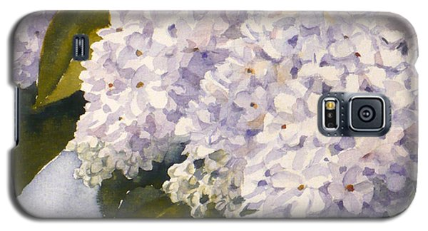 White Lilacs Galaxy S5 Case