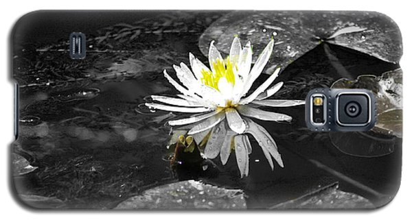 White Lilly Galaxy S5 Case