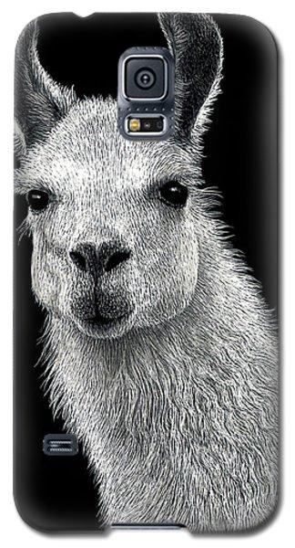 White Llama Galaxy S5 Case