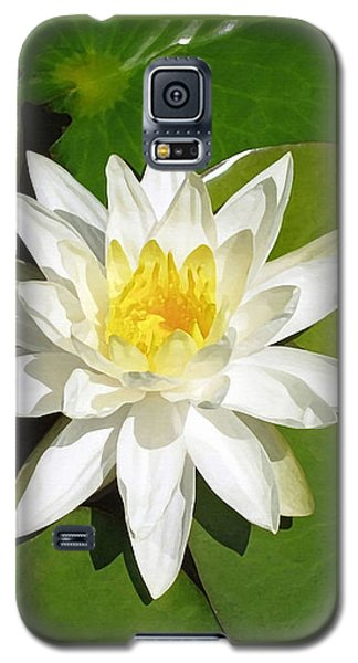 White Lotus 1 Galaxy S5 Case