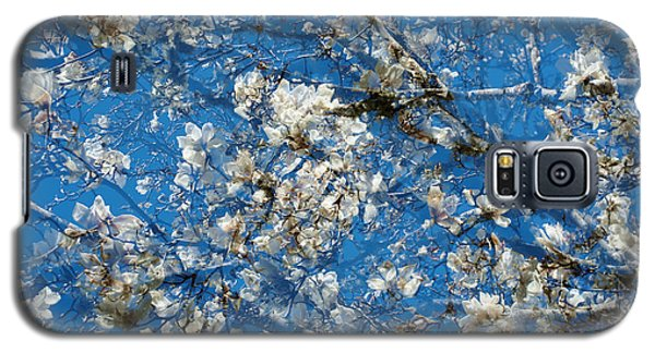 White Magnolia  Galaxy S5 Case by Catherine Lau