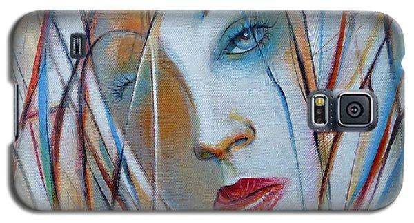 White Nostalgia 010310 Galaxy S5 Case by Selena Boron