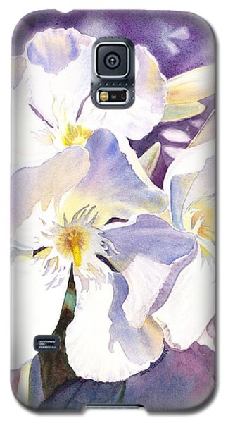 White Oleander Galaxy S5 Case