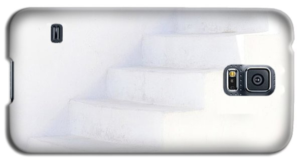 White On White Galaxy S5 Case