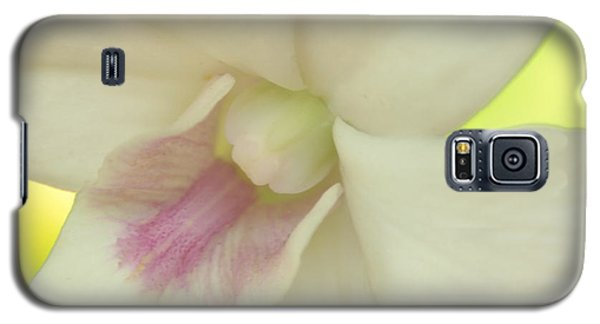 Galaxy S5 Case featuring the photograph White Orchid by Greg Allore