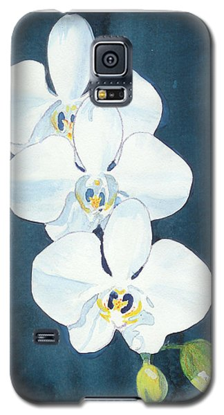 White Orchids Galaxy S5 Case by C Sitton