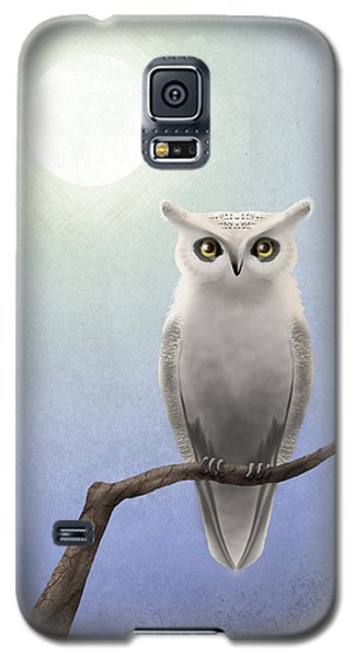 White Owl Galaxy S5 Case