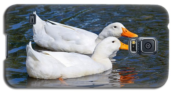White Pekin Ducks #2 Galaxy S5 Case