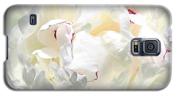 White Peony Galaxy S5 Case