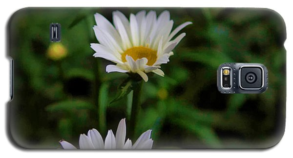 White Petals Galaxy S5 Case