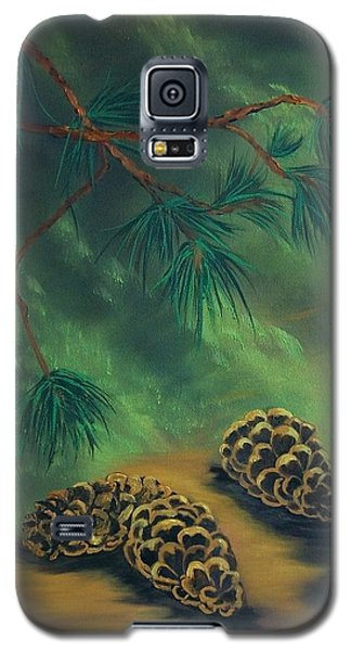 White Pine  And Cones Galaxy S5 Case