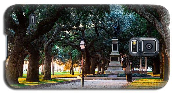 White Point Garden Walkway Charleston Sc Galaxy S5 Case