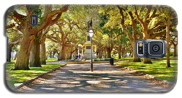 White Point Gardens At Battery Park Charleston Sc Hdr Galaxy S5 Case